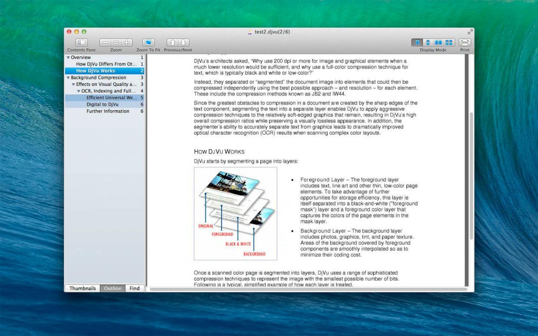 DjVu Reader Pro for Mac v2.4.7 DjVu阅读软件破解版