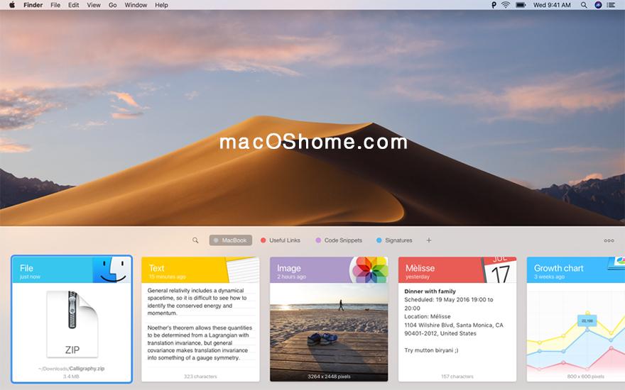 Paste For Mac v2.5.6  中文破解版