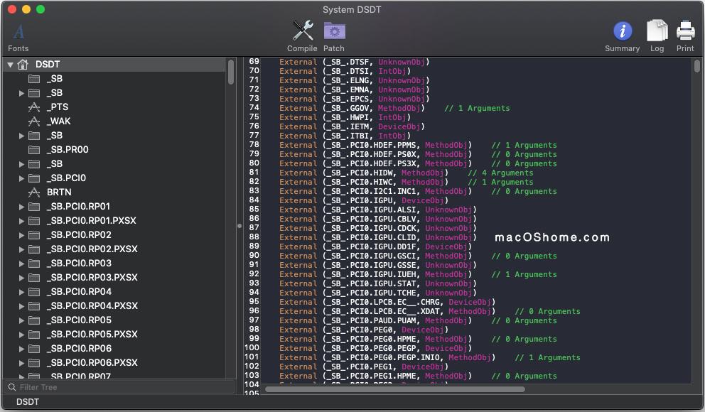 MaciASL  1.5.7 DSDT编辑工具最新版