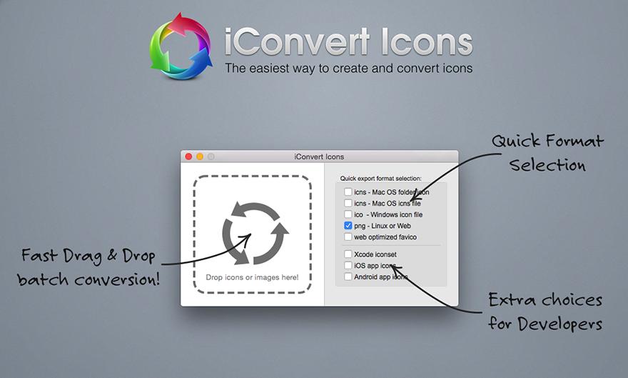 iConvert Icons v2.9 Mac 全能图标转换软件