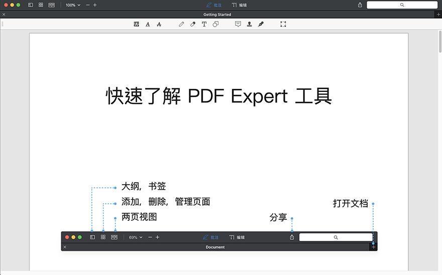 PDF Expert  For Mac 2.5.10 PDF编辑阅读器