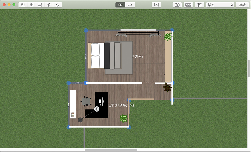 Planner 5D for Mac 4.4.4 室内设计软件中文破解版