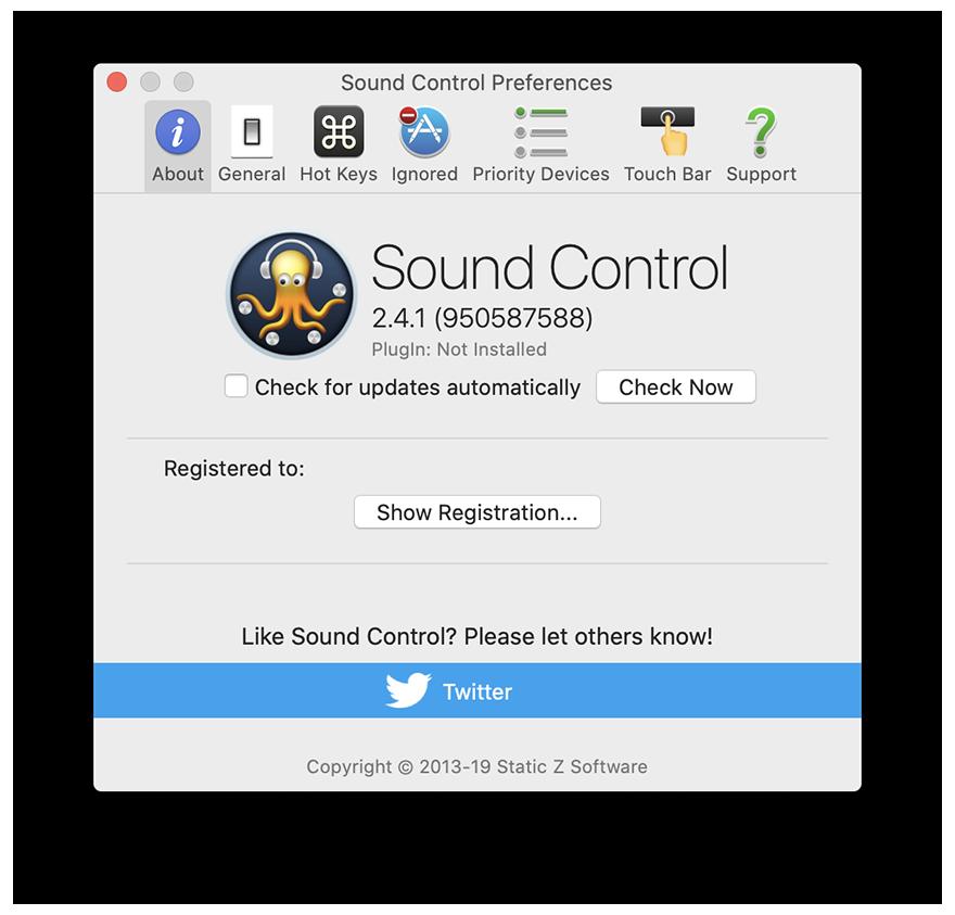 Sound Control 2.4.3 音量控制及输出设备管理,单独控制每个APP音量