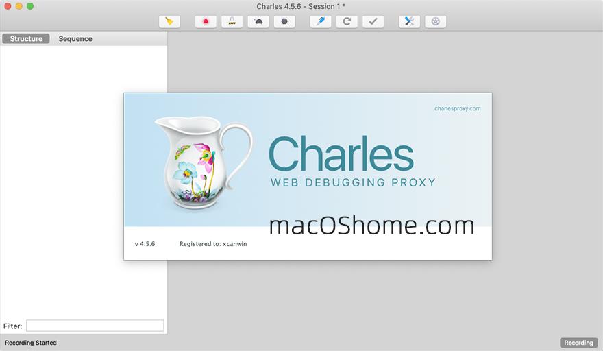 Charles for Mac v4.5.6 HTTP代理监视器 抓包工具破解版
