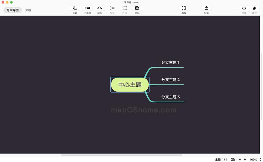 XMind 2020 For Mac 10.1.3 思维导图软件中文破解版