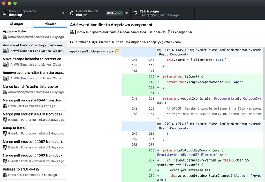 GitHub Desktop For Mac 2.3.1 桌面版下载