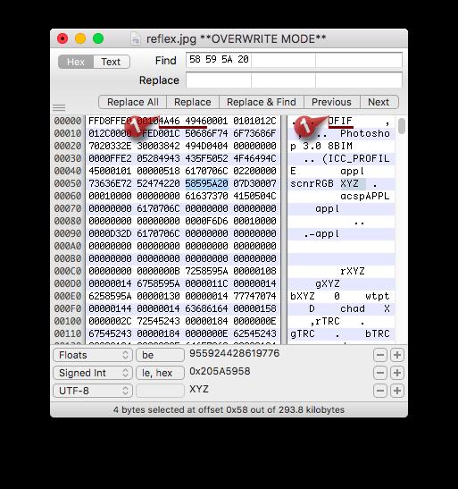 Hex Fiend For Mac 2.13.1 macOS轻量级完美的十六进制编辑软件