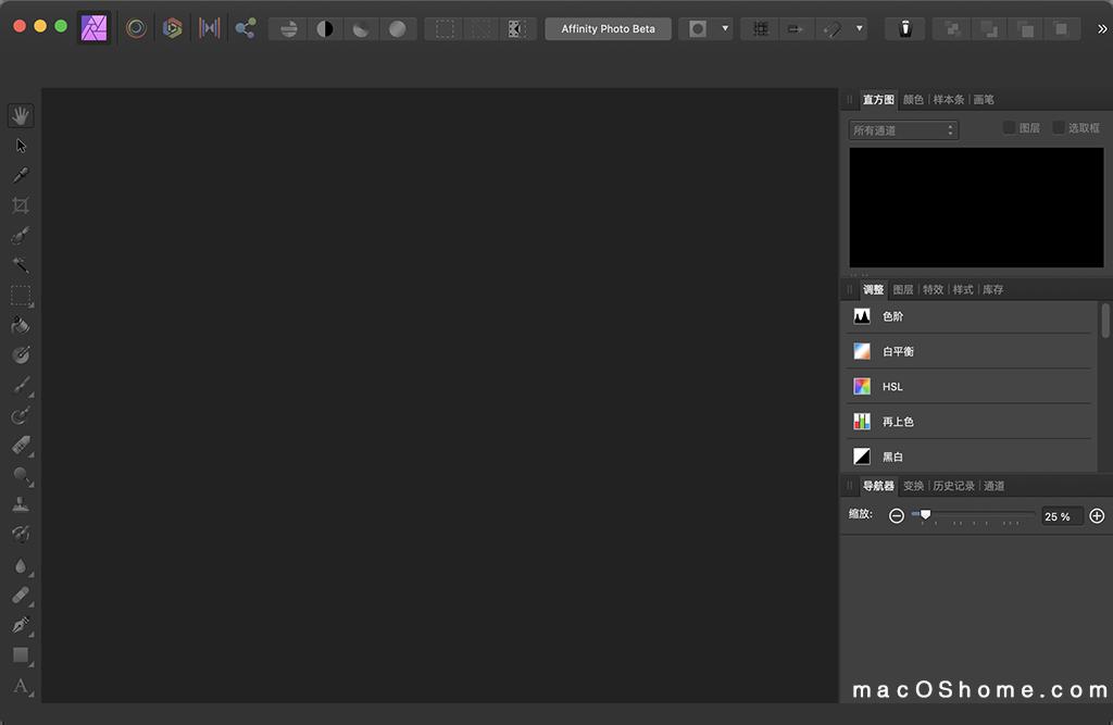Affinity Photo Beta for Mac v1.9.0 专业修图软件破解版