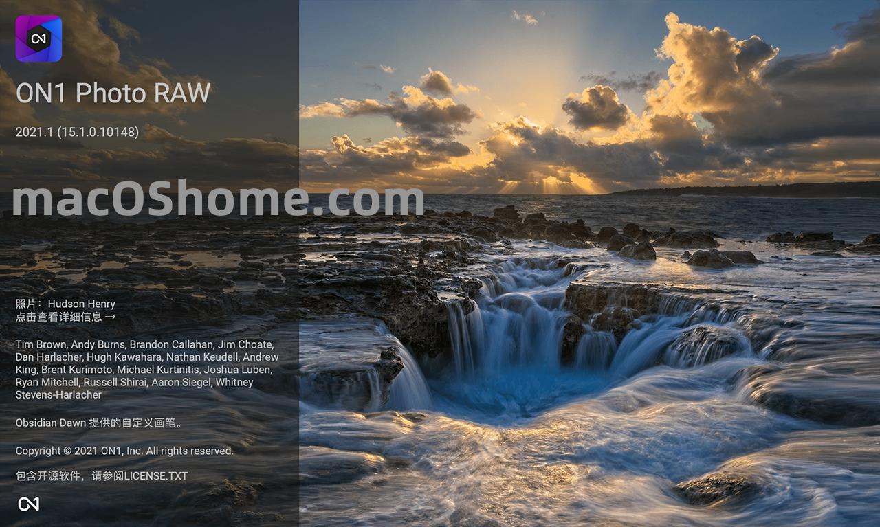 ON1 Photo RAW 2021.1 for Mac v15.1.0 RAW图像处理软件
