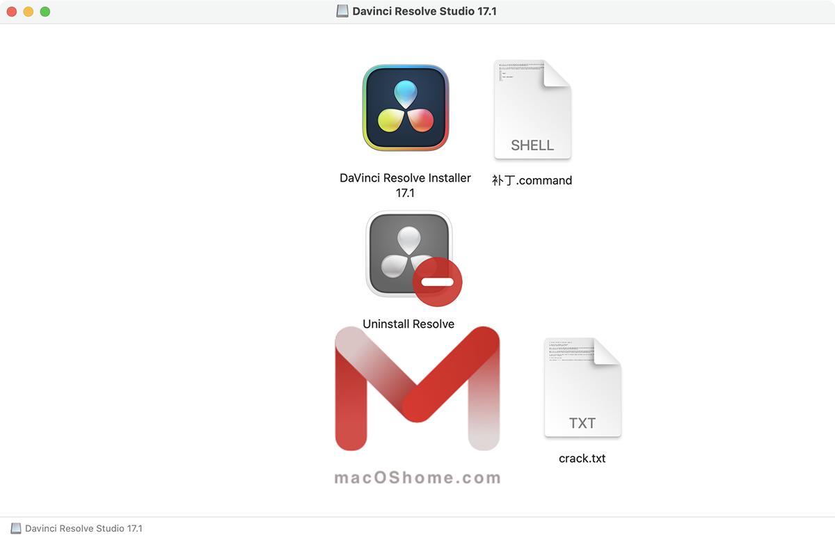 DaVinci Resolve Studio for Mac v17.1 支持M1 达芬奇调色中文破解版