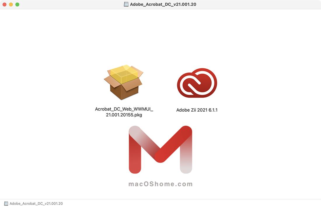 Adobe Acrobat DC v21.001.20155 中文版