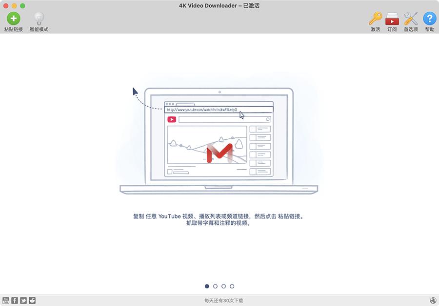 4K Video Downloader for Mac v4.17.2 4K视频下载软件中文版