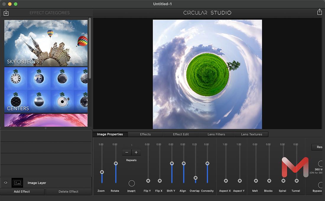 Circular Studio for Mac v2.5 360度全景合成软件