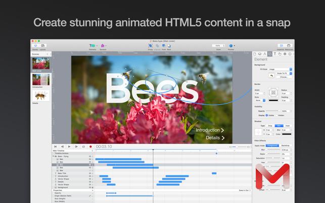 Hype 4 Pro For Mac v4.1.6创建HTML5动画中文版
