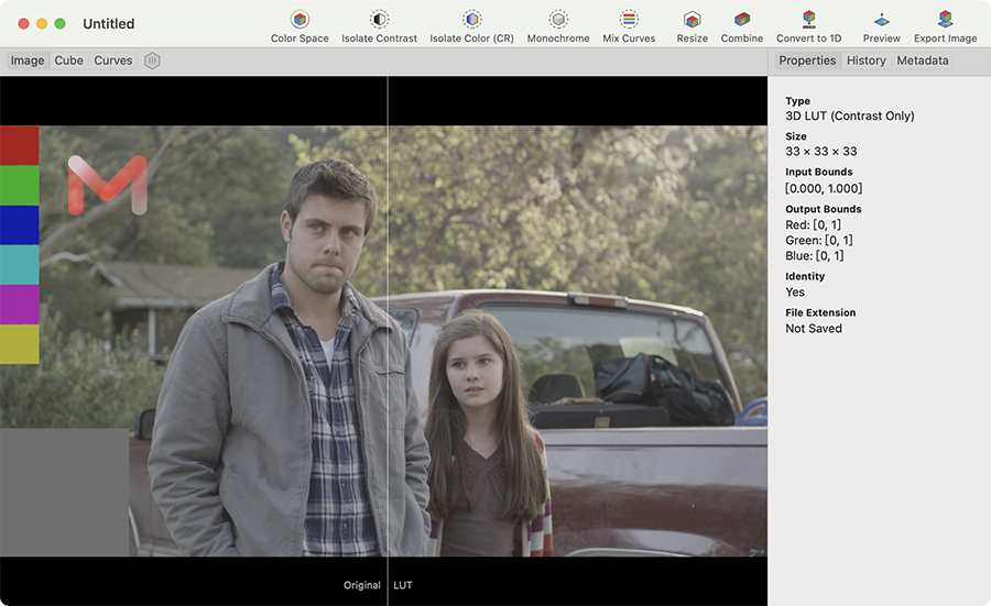 Lattice For Mac v1.8.14 LUT编辑器和查看器