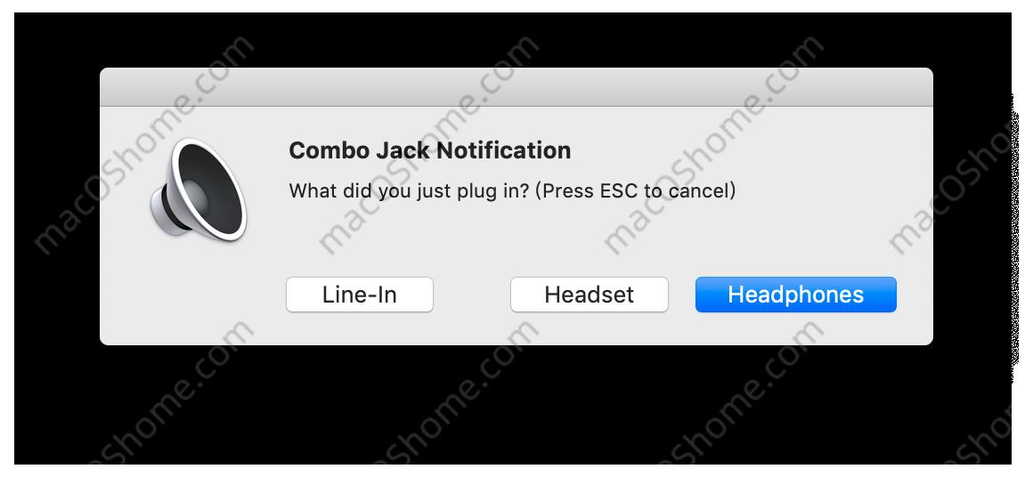 黑苹果耳机切换驱动,修复macOS Big Sur耳机无声