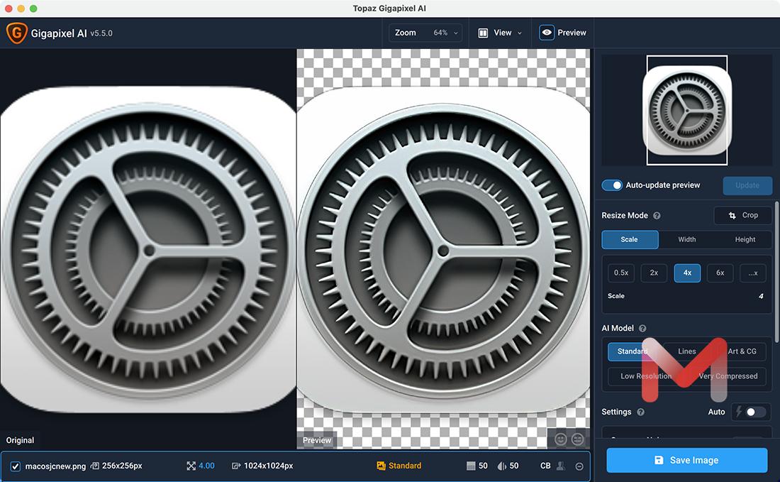 Topaz Gigapixel AI for Mac v5.5.0 图片无损放大软件