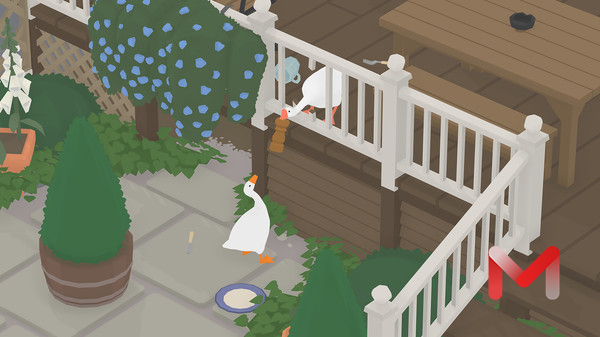 Untitled Goose Game For Mac v1.1.3 大鹅模拟中文破解版