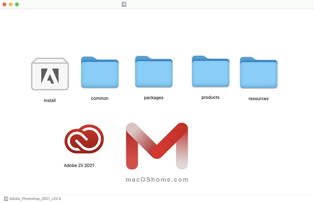 Adobe Photoshop 2021 For Mac v22.4 PS中文版
