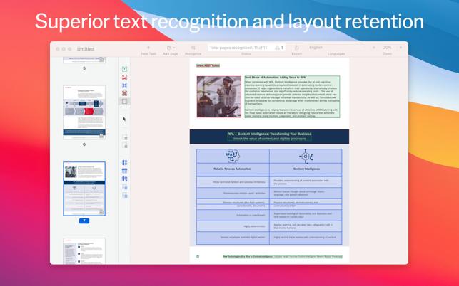 FineReader PDF For Mac v15.0.3 OCR转换器中文版