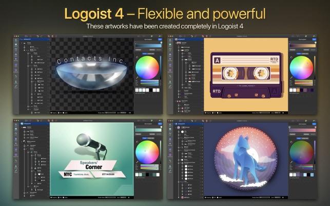 Logoist 4 For Mac v4.2.1 强大的矢量设计应用