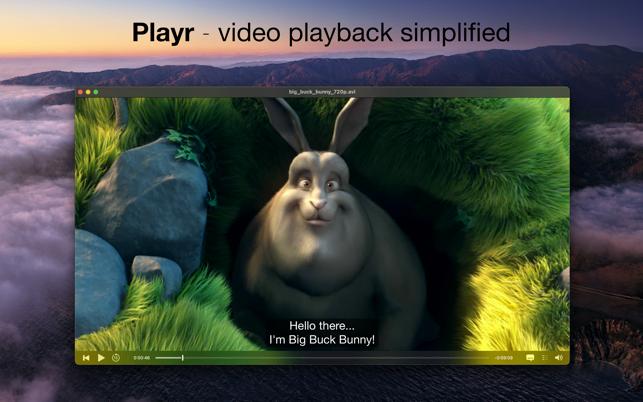 Playr For Mac v2.7 视频播放器中文版